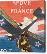 Join The Air Service Canvas Print