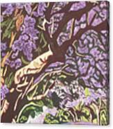 Jacaranda Avenue Canvas Print