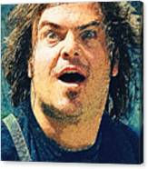 Jack Black - Tenacious D Canvas Print