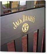 Jack Daniel's 3 Canvas Print
