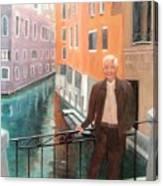 Jack In Venice Canvas Print
