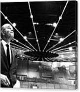 Jack Kent Cooke In The Forum Sports Canvas Print