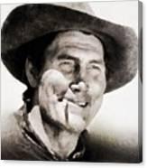 Jack Palance, Vintage Actor Canvas Print