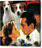 Jack Russell Terrier Art Canvas Print - Casablanca Movie Poster Canvas Print