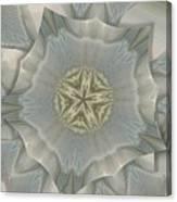 Jacket Flowers Canvas Print