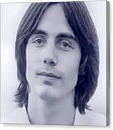 Jackson Browne, Music Legend Canvas Print