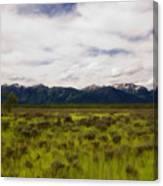 Jackson Hole Canvas Print