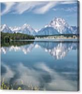 Jackson Lake 80 Canvas Print