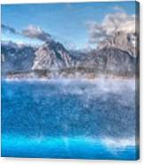 Jackson Lake - Teton National Park Canvas Print