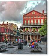 Jackson Square Evening Canvas Print