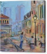 Jackson Square Musicians Canvas Print