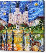 Jackson Square New Orleans Canvas Print