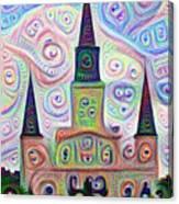 Jackson Square - Nola Canvas Print