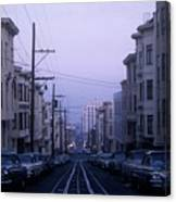 Jackson Street San Francisco Canvas Print