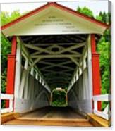 Jackson's Mill Covered Bridge Canvas Print