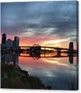 Jacksonville Sunrise Canvas Print