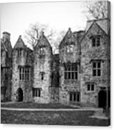 Jacobean Wing At Donegal Castle Ireland Canvas Print
