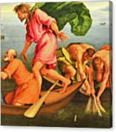 Jacopo Bassano Fishes Miracle Canvas Print