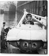 Jacques Cousteau (1910-1997) Canvas Print
