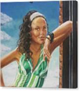 Jade Anderson Canvas Print