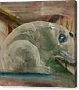 Jade Frog 2 Canvas Print