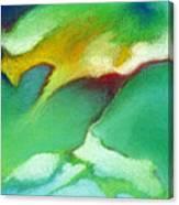 Jade Ice Canvas Print