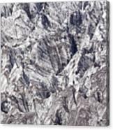 Jagged Glacier Canvas Print