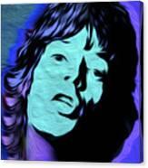 Jagger Blue,nixo Canvas Print