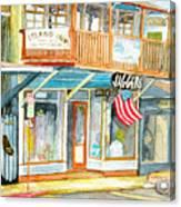 Jaggers Canvas Print