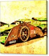 Jaguar Le Mans 2015, Race Car, Fast Car, Gift For Men Canvas Print