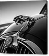 Jaguar Mascot Canvas Print