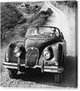 Jaguar Xk 150 Drophead Coupe Canvas Print