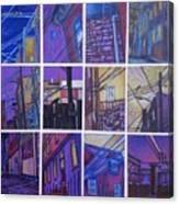 Jail Alley, Fredericksburg, Va Canvas Print