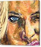 Jaime Pressly Canvas Print