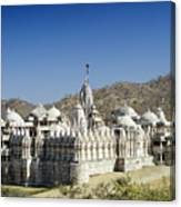 Jain Temple Of Ranakpur Canvas Print