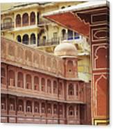 Jaipur City Palace Canvas Print