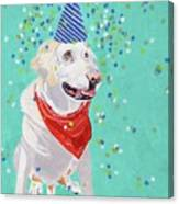 Jake The Party Animal Canvas Print