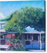 Jalama Beach Store Canvas Print