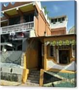 Jamaican Apartments Canvas Print