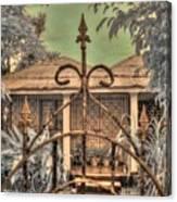 Jamaican Gate Canvas Print