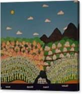 Jamaican Landscape Canvas Print