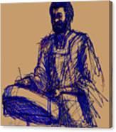 Jamaican Steel Drum Player Canvas Print