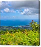 Jamaican Vista Canvas Print