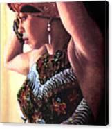 Jamaican Woman Canvas Print