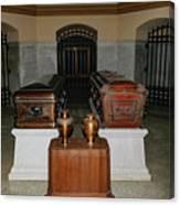 James A. Garfield Coffin Canvas Print