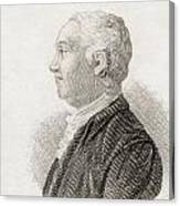 James Bruce, 1730 To 1794. Scottish Canvas Print