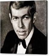 James Coburn, Vintage Actor Canvas Print