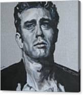 James Dean One Canvas Print