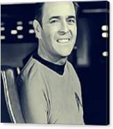 James Doohan, Scotty Canvas Print
