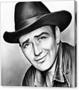 James Drury Canvas Print
